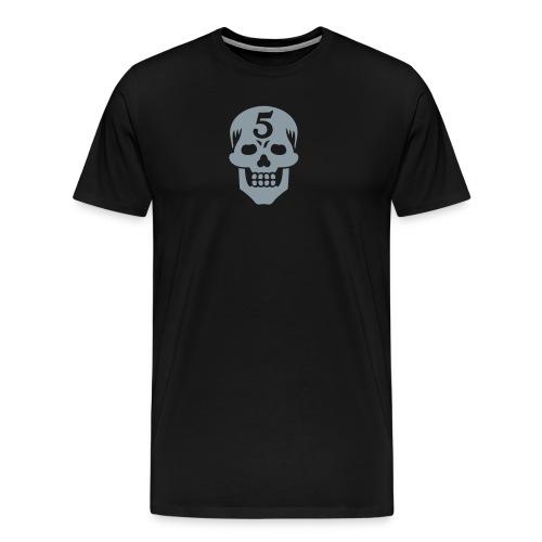 Operator 5 Skull Metallic - Men's Premium T-Shirt