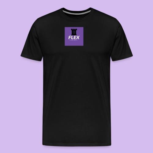 FLEX KINGDOM LOGO - Men's Premium T-Shirt