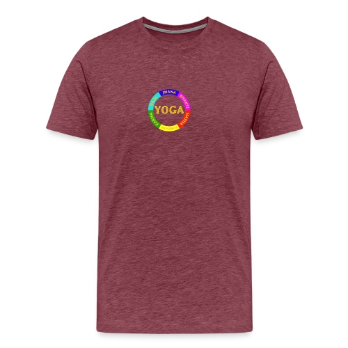 6 ways of Yoga - Men's Premium T-Shirt