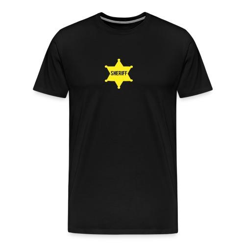 Gold Star Sheriff - Men's Premium T-Shirt