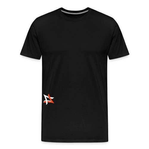 Logo on black png - Men's Premium T-Shirt