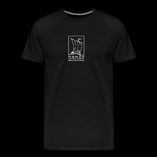 Nomad Boatbuilding Logo - Men's Premium T-Shirt
