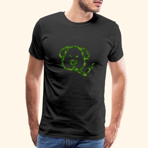 Smoking Dog - Men's Premium T-Shirt