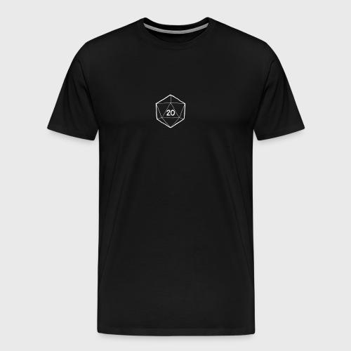 Fantasy Dice d20 - Men's Premium T-Shirt