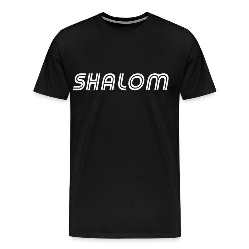Shalom, Peace - Men's Premium T-Shirt