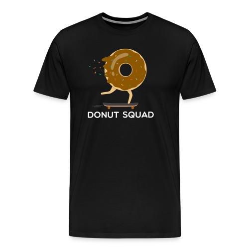 Donut Squad Skateboarding T-Shirt - Men's Premium T-Shirt