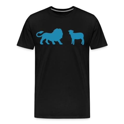 Lion and the Lamb - Men's Premium T-Shirt