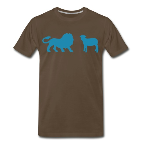 Lion and the Lamb - Men's Premium T-Shirt