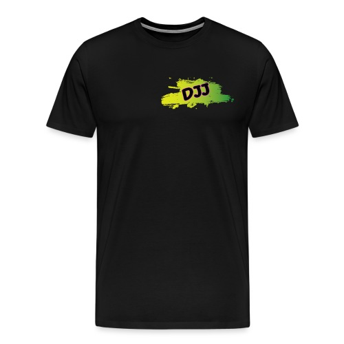 DJJ Green splash - Men's Premium T-Shirt