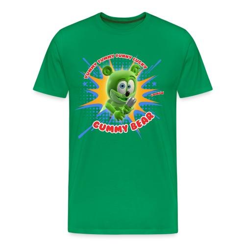 Funny Lucky Gummy Bear - Men's Premium T-Shirt
