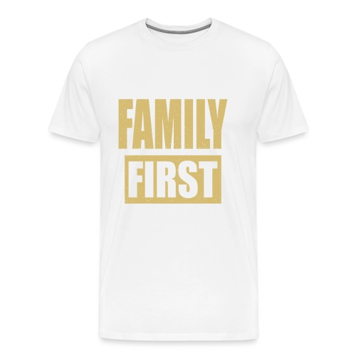 Family First - Men's Premium T-Shirt