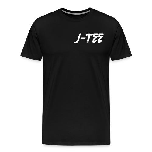 J0Teewhte png - Men's Premium T-Shirt