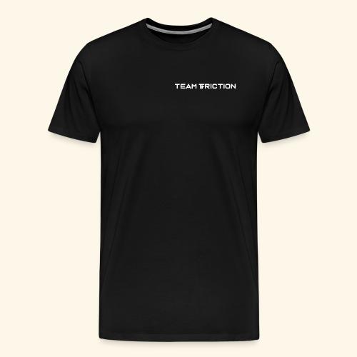Patch Text Logo - Men's Premium T-Shirt