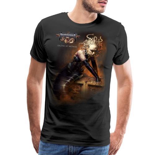 Gazing at Medusa V2 - Men's Premium T-Shirt