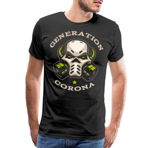 corona generation covid - Men's Premium T-Shirt