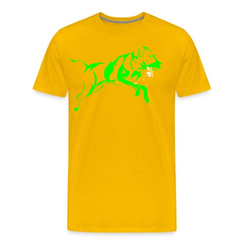 Daisy 2 green - Men's Premium T-Shirt