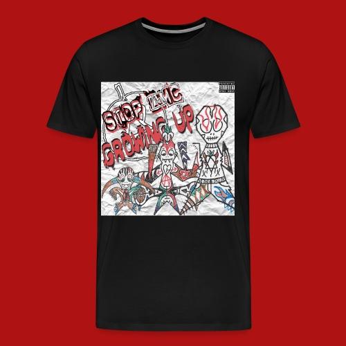 growing up cover - Men's Premium T-Shirt