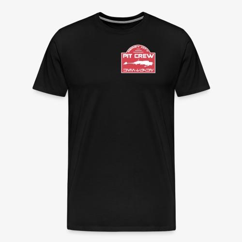 Derby City Pit Crew (DCPC) Emblem Graphic - Men's Premium T-Shirt