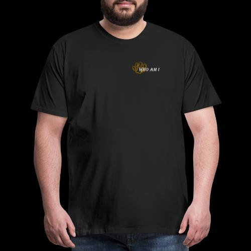 who am i white - Men's Premium T-Shirt