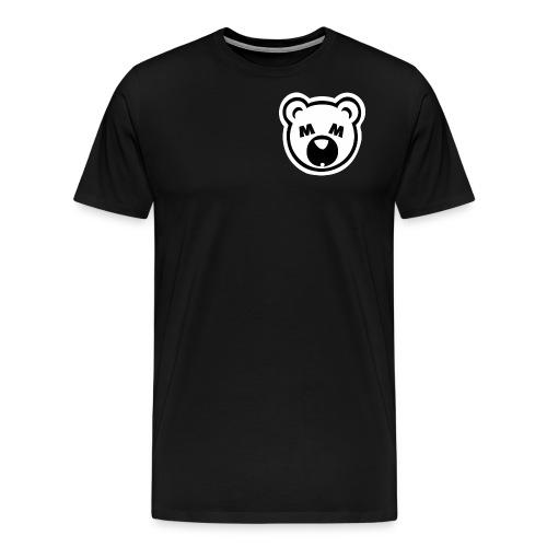 Bear Minimum Design - Men's Premium T-Shirt