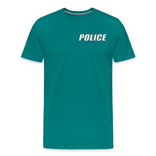 Police White - Men's Premium T-Shirt