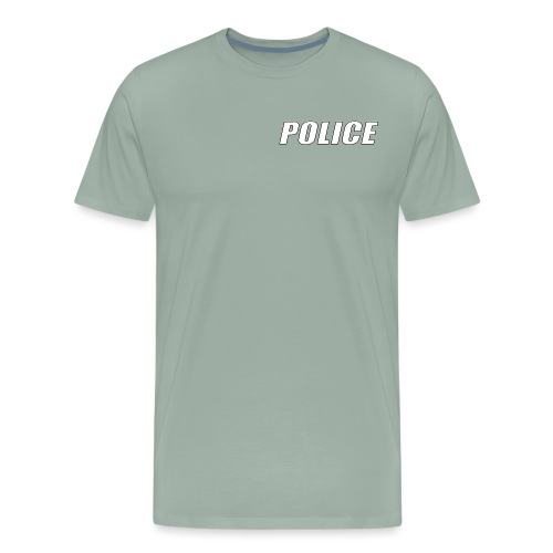 Police White - Men's Premium T-Shirt