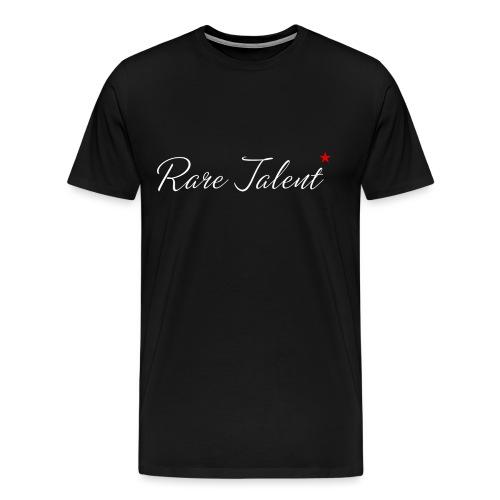 Rare Talent White Text - Men's Premium T-Shirt