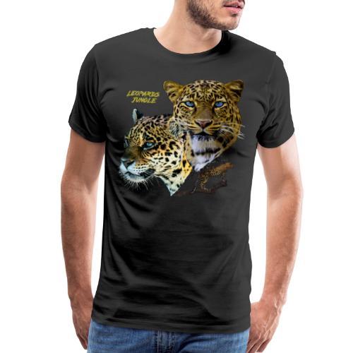 leopards jungle - Men's Premium T-Shirt