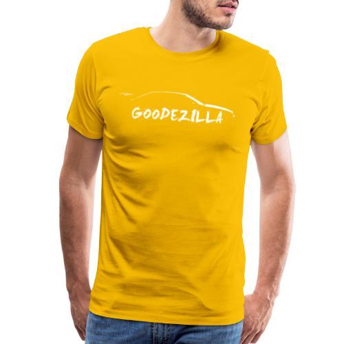 Silhouette GoodeZilla Wht - Men's Premium T-Shirt