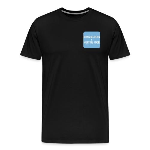 Drinking Goon & Hunting Poon - Men's Premium T-Shirt