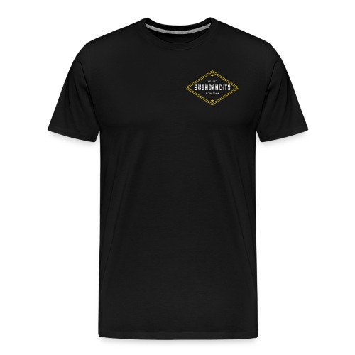 BushBandits Black - Men's Premium T-Shirt