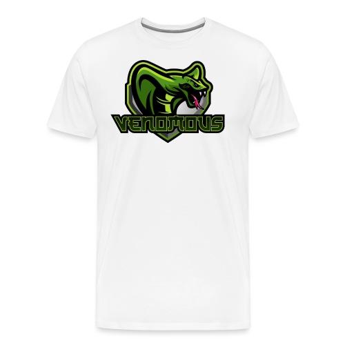 Venomous Text Logo - Men's Premium T-Shirt
