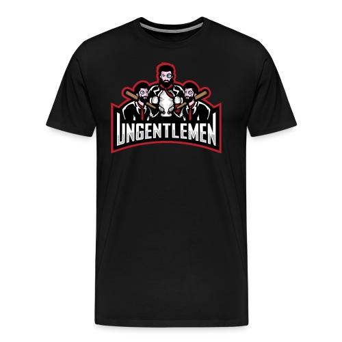 Ungentlemen Text Logo - Men's Premium T-Shirt