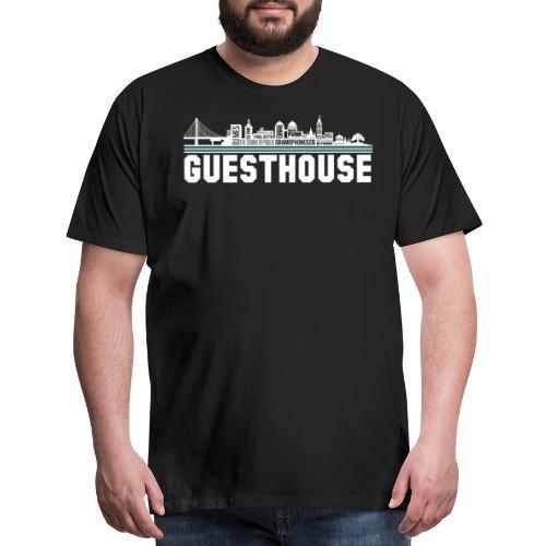 Guesthouse - Oakland Skyline - Men's Premium T-Shirt