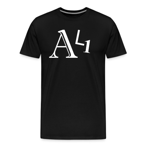AL1 White - Men's Premium T-Shirt