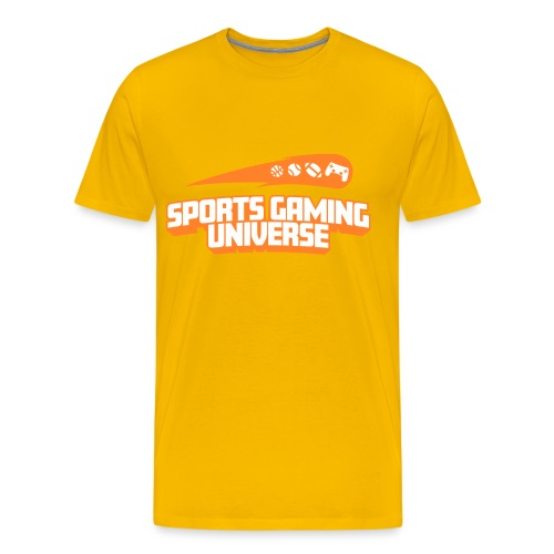 SGU Logo 18 Orange - Men's Premium T-Shirt