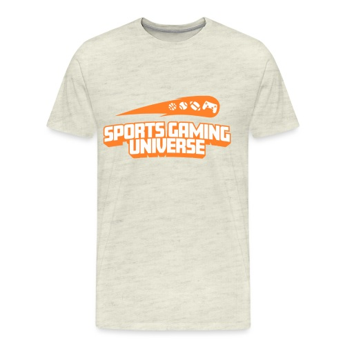 SGU Logo 18 Orange - Men's Premium T-Shirt
