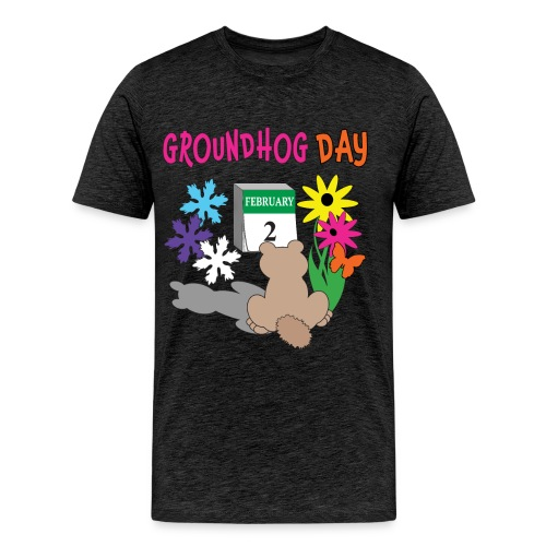 Groundhog Day Dilemma - Men's Premium T-Shirt
