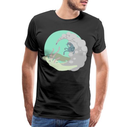 elevatia vectorized - Men's Premium T-Shirt