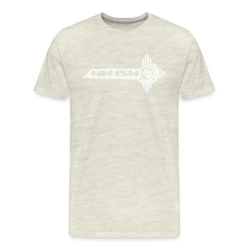 White NM-ISM Logo - Men's Premium T-Shirt