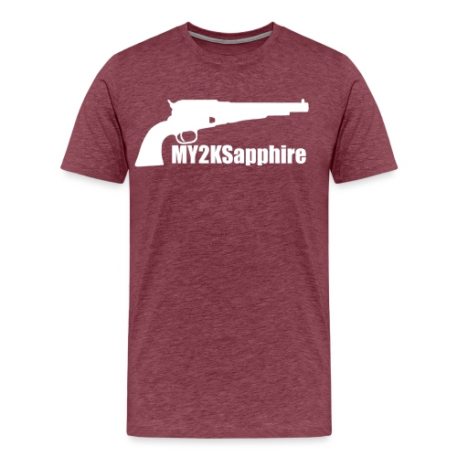 Remington 1858 Revolver - Men's Premium T-Shirt