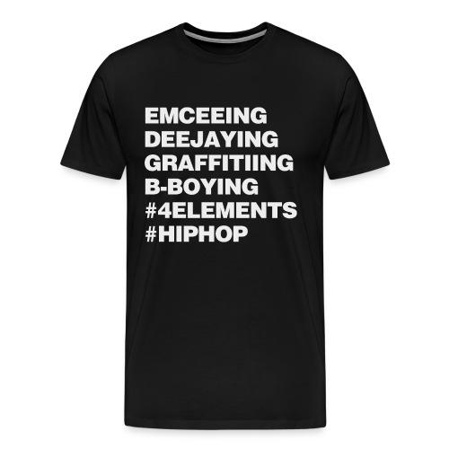 Four Elements of Hip Hop - Men's Premium T-Shirt