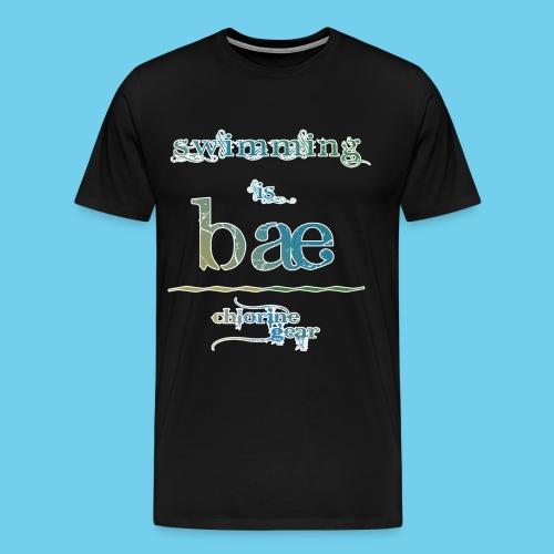 swimming is bae - Men's Premium T-Shirt