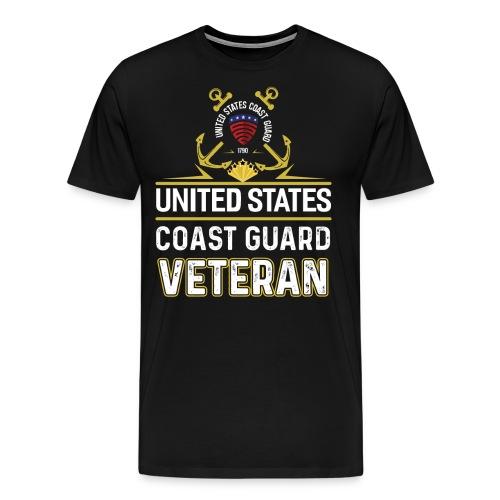 UNITED STATES COAST GUARD VETERAN - Men's Premium T-Shirt