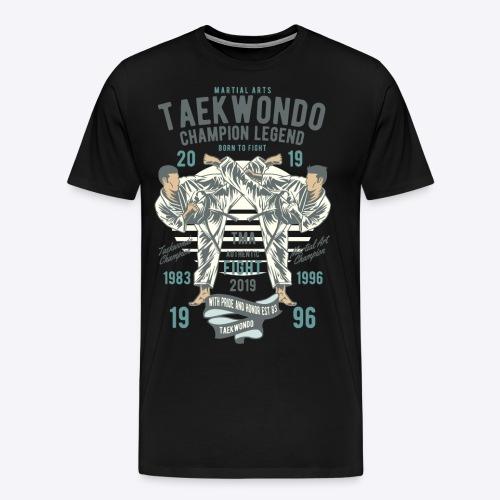 Taekwondo champion - Men's Premium T-Shirt