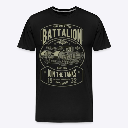 Battalion - Men's Premium T-Shirt