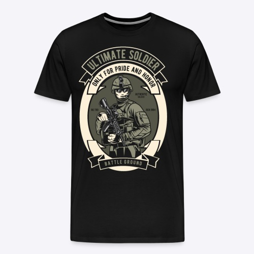 The ultimate soldier - Men's Premium T-Shirt