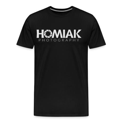 HP_LOGO_2016 (WHITE) - Men's Premium T-Shirt