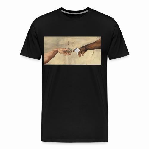 Faith is addicting - Men's Premium T-Shirt