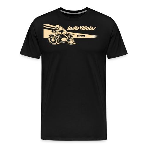 LESLIEVILLAIN CAFE 2 - Men's Premium T-Shirt